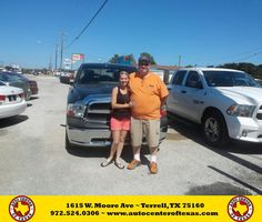 https://flic.kr/p/K9QjzE   Happy Anniversary to Frank on your #Ram #1500 from David Herrera at Auto Center of Texas!   deliverymaxx.com/DealerReviews.aspx?DealerCode=QZQH
