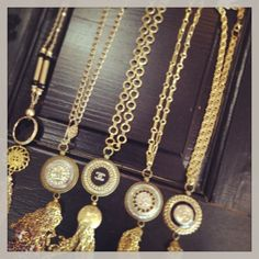 Chanel Button Trunk Show at Marta's! #martas #martasboutique #chanel #buttons #jewelry #trunkshow #handmade #unique #necklaces #earrings #bracelets #bling