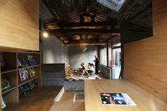 2016 Aga Khan Award for Architecture Winners Announced,Hutong Children's Library and Art Centre / ZAO / standardarchitecture / Zhang Ke. The spontaneity of childhood is captured in how interiors are elevated, allowing for seating to become ad hoc tables or benches to stretch out, creating multiple degrees of intimacy for children and parents together. Image © AKTC / Zhang MingMing, ZAO, standardarchitecture