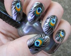 10 Awesome Hand Painted Nail Art Designs To Inspire You | StyleCraze