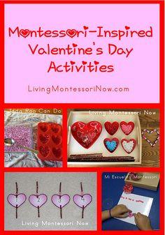 Montessori Monday – Montessori-Inspired Valentine's Day Activities