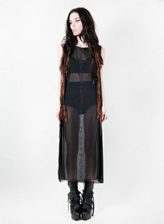 Curse of Busla Dress in black by Ovate / I really really really want this fuckin dress damn it!