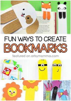 633 best kids crafts diy projects images on pinterest in 2018 do it yourself bookmarks for crafty kids solutioingenieria