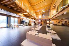 Kurikan Jurvassa sijaitsevan uniikin puurakennuksen osti paikkakuntalainen kalustealan yritys. Basketball Court, Stairs, Home Decor, Classroom, Stairway, Decoration Home, Room Decor, Staircases, Home Interior Design