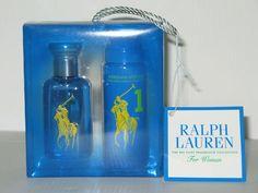 Polo Ralph Lauren 1 Big Pony Collection Women 1 0 oz EDT Body Mist Gift Set