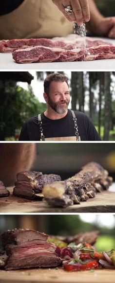 Curso de costela para churrasco por Academia da carne Friboi