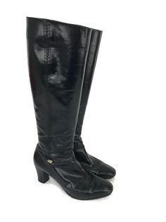 Salvatore Ferragamo Brown Leather Croc Print Biker Riding Women Boots Us 8 Modern Techniques Boots