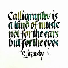 Calligraphy is a kind of music not for the ears but for the eyes  .  From a beautiful calligraphy work by @sachinspiration __ Featured by @thedailytype #thedailytype Learning stuffs via: www.learntype.today __ by thedailytype