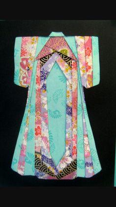 Kimono Iris folding - been wanting to do this since 2008!