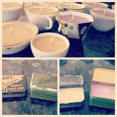 DIY+Soy+Candles+in+Antique+Teacups+%26+Old+Canisters