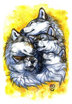 #wolf #art