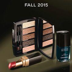 CHANEL Collezione Autunno 2015  #manlioboutique ⭐️⭐️⭐️⭐️⭐️ Info: WhatsApp 329.0010906 #new #makeup #palette #lipstick #nailpolish