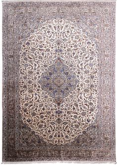 Kashan Design Persian Rug Ivory Rugs, Persian Rug, Colorful Rugs, Carpets, Area Rugs, Design, Home Decor, Persian Carpet, Farmhouse Rugs