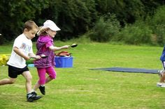 Outdoor Party Games for Kids Egg and Spoon Race