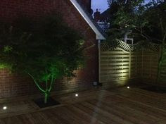 Decking Lights - Stirling - Stirling Electrical Services Ltd. Deck Lighting, Stirling, Decking, Lights, Places, Photos, Pictures, Star Ring, Lighting