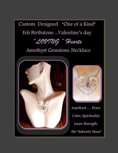 Healing jewelry Valentine's Jewelry by RosesWireArtJewelrY on Etsy, $56.00