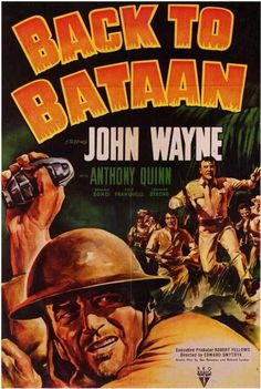 Back To Bataan (1945) - John Wayne DVD