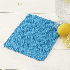 Zigzag Dishcloth Free Download