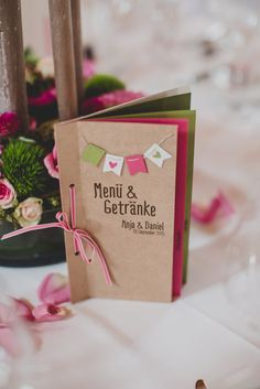 Best Picture For DIY Stationery personalized For Your Taste You are looki Wedding Menu, Wedding Stationary, Wedding Table, Wedding Cards, Diy Wedding, Dream Wedding, Wedding Day, Wedding Planer, Diy Invitations