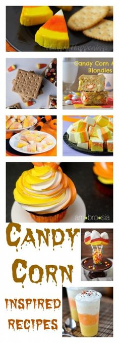 Candy Corn Inspired Recipes To Make On Halloween