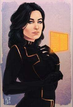 "bittersiha: "" i'm alive i promise, school is just… Chaotic. Mass Effect Miranda, Mass Effect 1, Mass Effect Universe, Mass Effect Characters, Female Characters, Fantasy Characters, N7 Armor, Miranda Lawson, Beautiful Nurse"