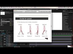 After Effects: walking animation - YouTube