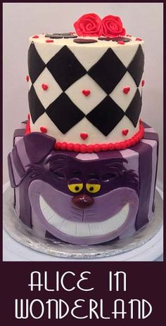 Cheshire Cat Cake | Little Delights