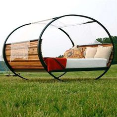 The Queen Size Rocking Outdoor Bed