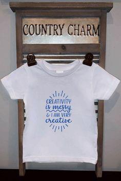 Creativity is Messy