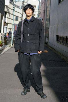 『「L.L.Bean」のブルゾンはかなり暖かくて、重宝してい … Japanese Men, Japanese Models, Business Casual Men, Men Casual, Sperrys Men, Fashion Silhouette, Asian Street Style, American Eagle Men, Men's Wardrobe