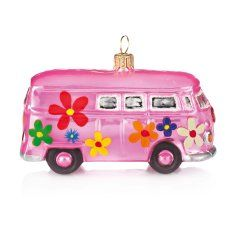 VW Van!  SInce we have a VW Jetta I love this! Add to the Christmas tree!