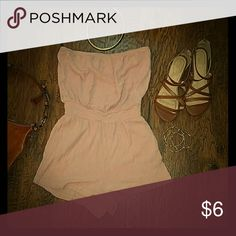 Pink romper Cute pink ropmer, elastic waist Forever 21 Other