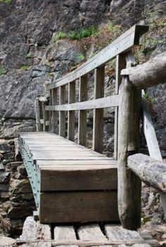 Bridge along Appalachian Trail
