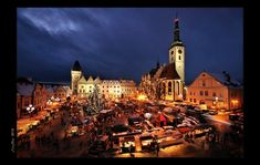 Christmas atmosphere of cities and towns in Czechia : Tábor Cities, History, Architecture, Building, Nature, Php, Travel, Christmas, Voyage