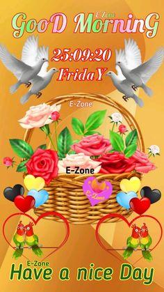 Good Morning Friday, Good Day, Buen Dia, Good Morning, Hapy Day