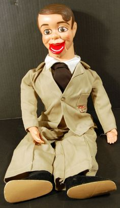Jimmy Nelson 1964 Danny O'Day Ventriloquist Dummy: My family had one of these. As a toddler, I was terrified of it!