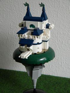 Fett Palace: A LEGO® creation by Vladimir van Hoek : MOCpages.com