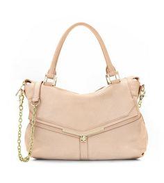 VALENTINA satchel handbag in Powder {Botkier}
