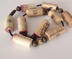 8 Foot Wine Cork Garland Rustic Theme Rustic by MaxplanationPhotos, $10.00