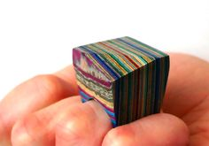 Laminated Paper Ring - Jeremy May