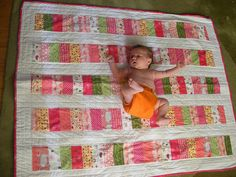 Baby quilt finished! by Agnes {as*q}, via Flickr