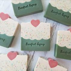 Handmade Soap Recipes, Handmade Soaps, Homemade Soap Bars, Glycerin Soap, Castile Soap, Soap Maker, Handmade Cosmetics, Soap Packaging, Goat Milk Soap