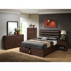 Wildon Home  Harrison Platform Bedroom Collection