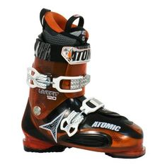 Atomic 2012 Live Fit LF 120 Ski Boots Orange/Black 29.0 by Atomic. $269.00. The Atomic 2012 Live Fit 120 is a premium all-mountain boot for advanced to expert skiers. The 120 flex of this boot is pretty stiff, 120 is nearly race stiffness, and certainly is responsive enough for aggressive skiing in any terrain. But these boots fit much, much more comfortably than any race boot. With the Live Fit zones, this boot has a malleable instep width that ranges from 102-106mm...