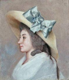 Jean-Etienne Liotard - Portrait of Louise-Marguerite Marcet 1785