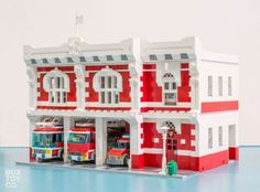 Classic LEGO Fire Station MOC: A LEGO® creation by Toby San