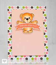 Bear Hugs   Clearly Besotted Stamps
