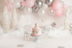 Winter ONEderland cake smash, Cleveland One Year Photographer 1st Birthday Party For Girls, Winter Birthday Parties, 1st Birthday Cake Smash, Girl Birthday Themes, Girl First Birthday Party Ideas Winter, Birthday Ideas, Winter Wonderland Cake, 1st Birthday Photoshoot, Smash Cake Girl