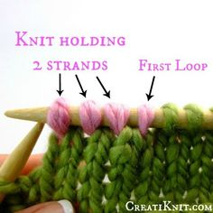 How to join in new yarn...you'll never have to tie knots again!