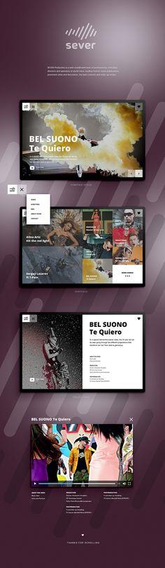 Hi Everyone, I build this project with Webflow app. Check live site: http://severvideo.ru/ #ui #webdesign #portfolio #video